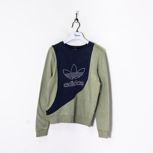 Adidas Rework Sweatshirt Navy Small
