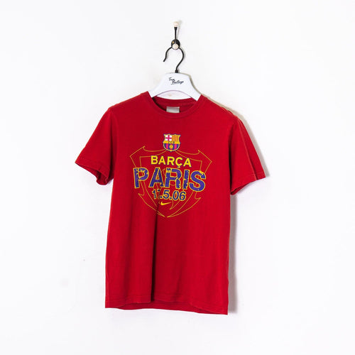 Nike FC Barcelona T-Shirt Red Small
