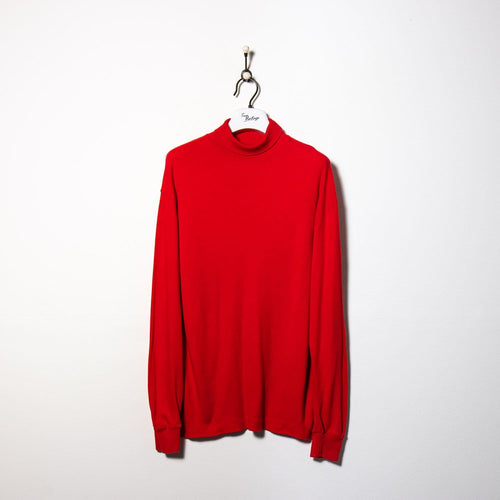 Fendi T-Shirt Red Medium