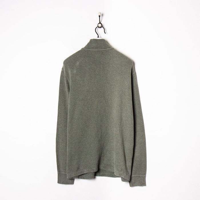 Nike Zip Sweatshirt Navy Large