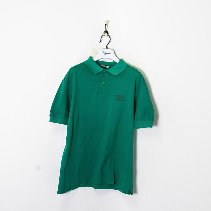 Fred Perry Polo Shirt Blue Medium