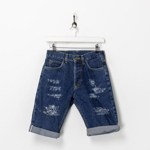 Lee Denim Shorts Blue XS