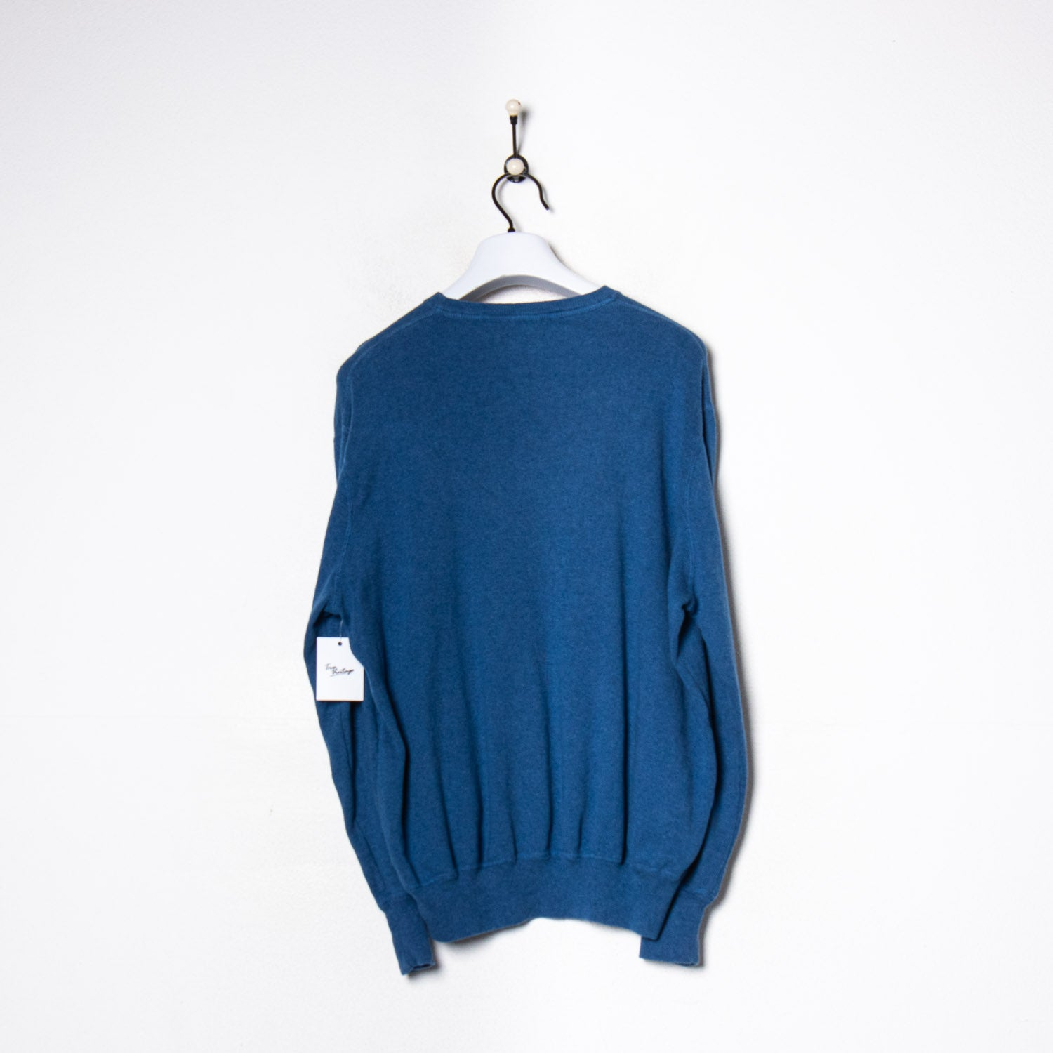 Fred Perry Knitted Sweatshirt Navy Large