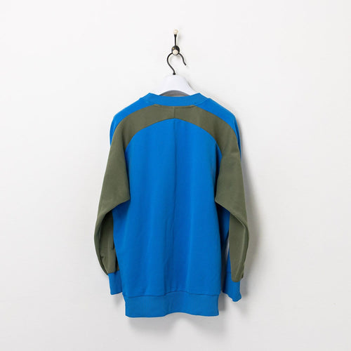 Adidas Sweatshirt Blue/Khaki Large