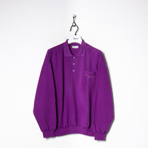 Calvin Klein Zip Sweatshirt Black Small