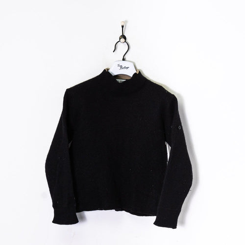 Stone Island Knitted Sweatshirt Black Women's Small