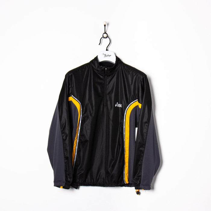 Kappa 1/4 Zip Track Jacket Blue/Black Small