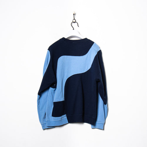 Best Company Fleece Cream/Blue Medium