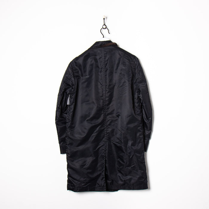 Puma Track Jacket Black/Orange Small