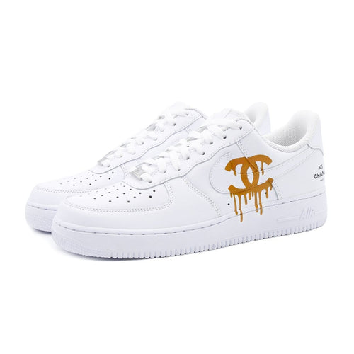 Nike Air Force 1 Custom Chanel