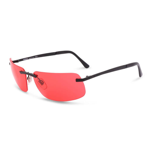 Versace Sunglasses Black / Red Deadstock