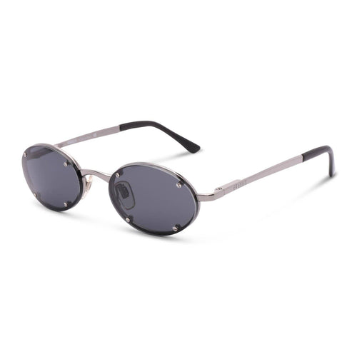 Versace Sunglasses Silver / Black Deadstock