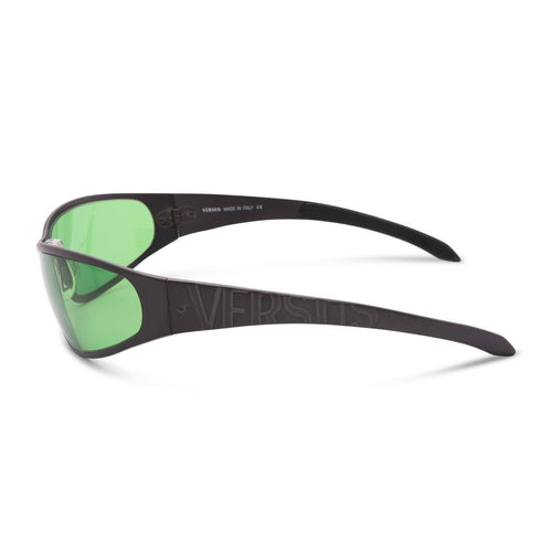Versace Sunglasses Grey / Green Deadstock