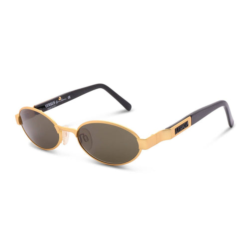 Versace Sunglasses Gold / Green Deadstock