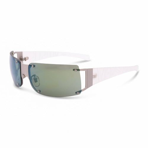 Versace Sunglasses Clear / Blue Deadstock