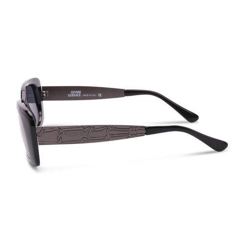 Versace Sunglasses Black / Black Deadstock