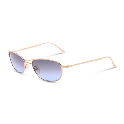 Gucci Sunglasses Gold / Blue Deadstock