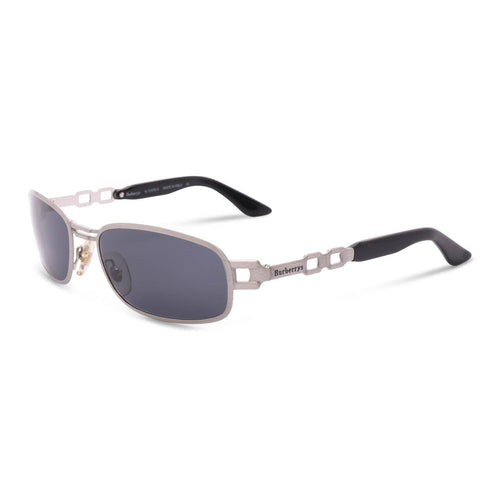 Burberry Sunglasses Silver / Blue Deadstock