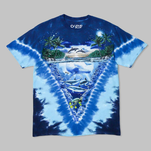 Liquid Blue Ocean T-Shirt NY