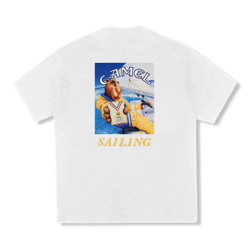 Camel Sailing T-shirt White