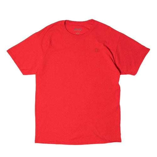 Champion Short Sleeve T-Shirt Red NEW T-shirts Champion