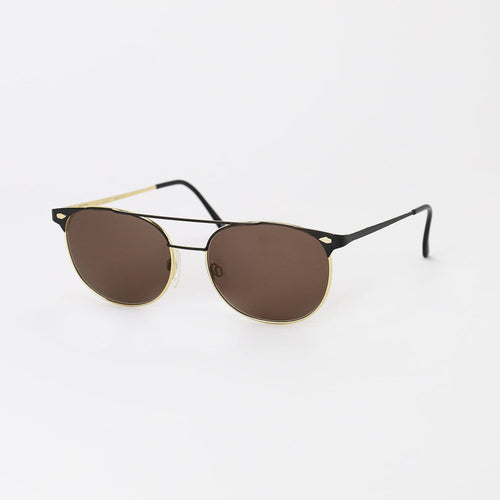 Gucci Sunglasses Black/Gold Deadstock Sunglasses Gucci
