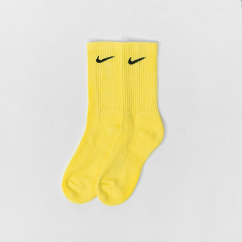 Nike Colour Block Socks Block Sunny Yellow Socks Nike