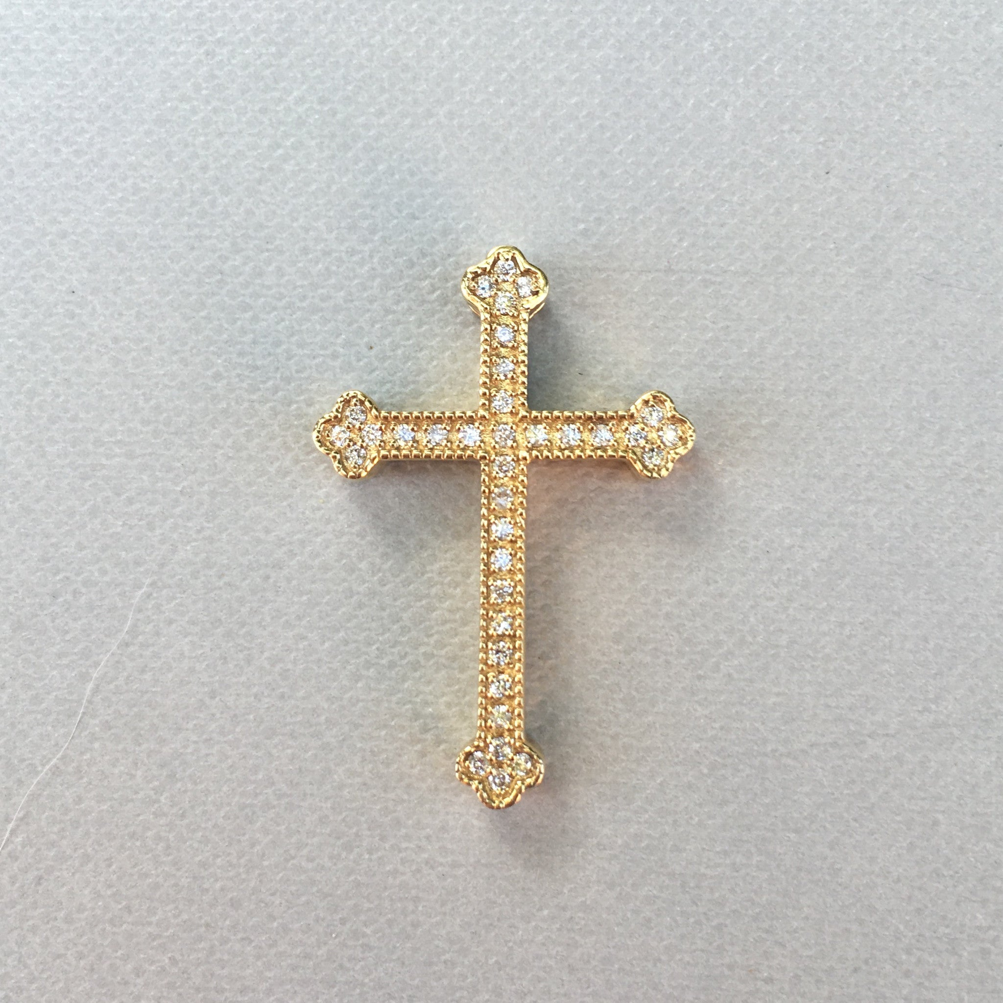 Pavé Diamond Cross