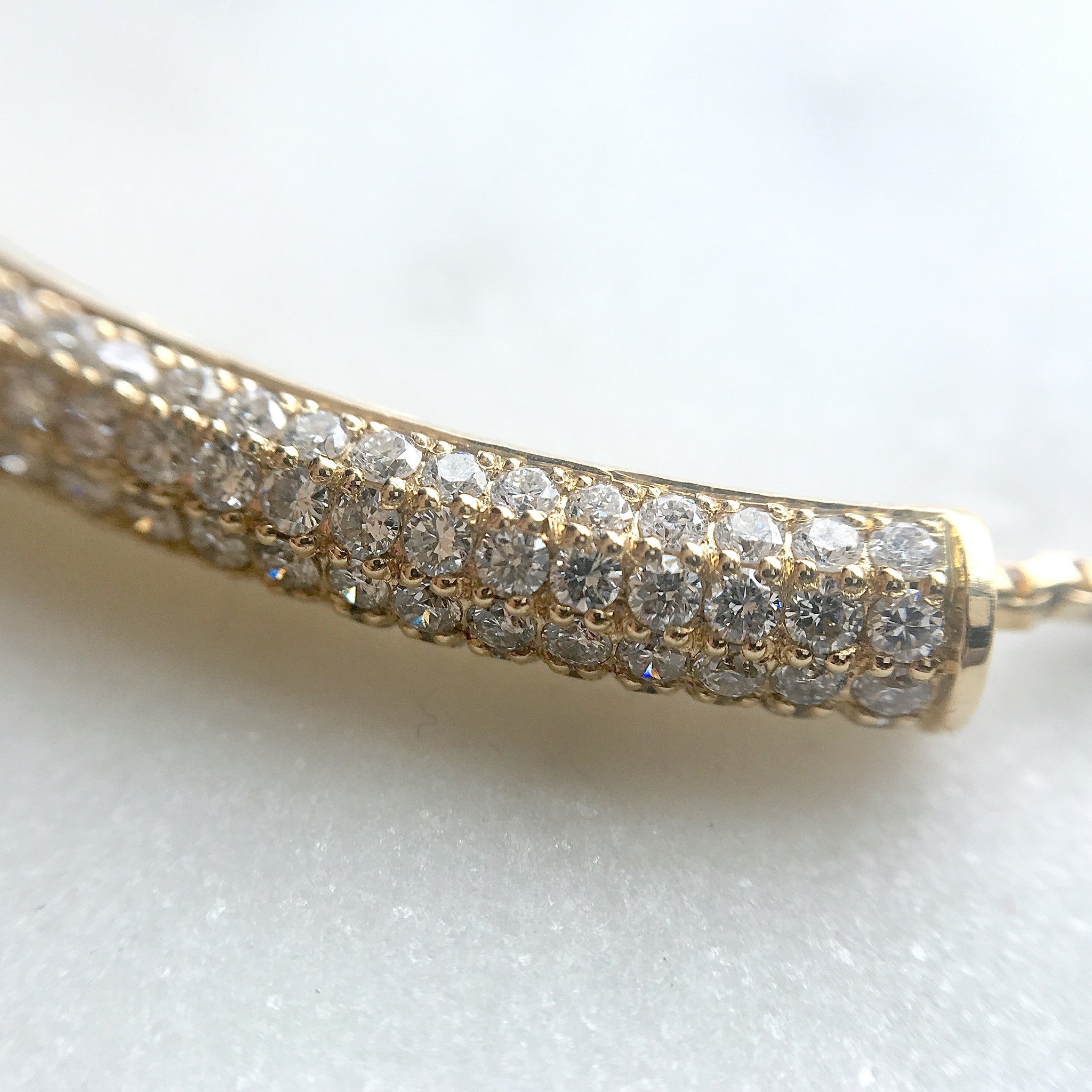 Diamond pavé bracelet