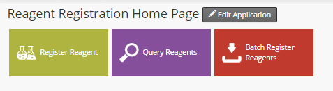 Reagent Registration Dashboard