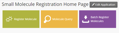 Small Molecule Registration Dashboard