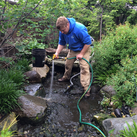 cool ponds pond cleaning supplis