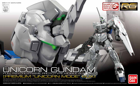 RG - RX-0 Unicorn Gundam (First Run Limited Edition Package)