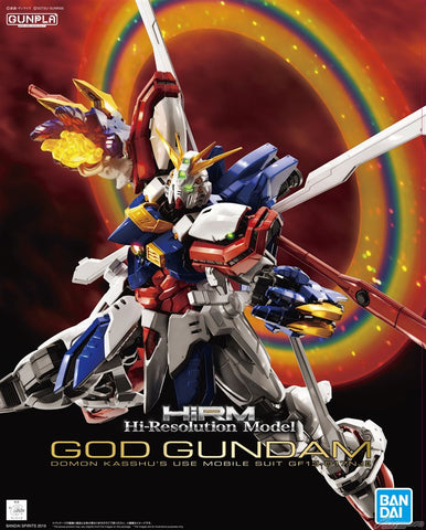 1/100 High-Resolution Model God Gundam