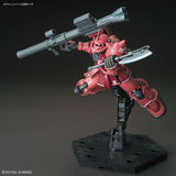 HGTO - MS-06S ZAKU II CHAR AZNABLE'S MOBILE SUIT (RED COMET VER.)