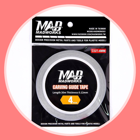 Madworks CGT-4MM Carving Guide Tape 4mm