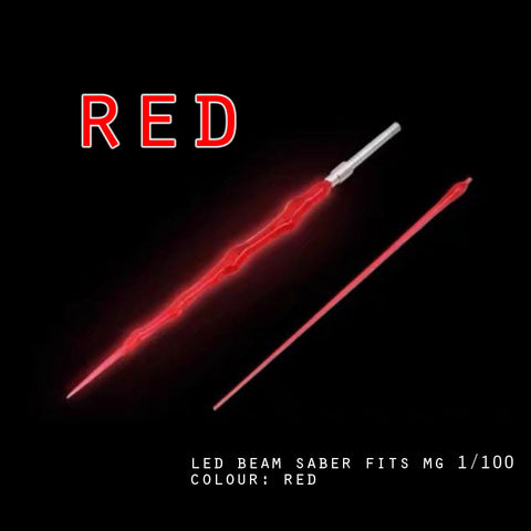 LED Beam Saber fits MG 1/100 (Red)