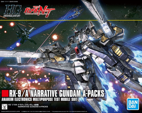 HG - Narrative Gundam A-Packs [Narrative Ver.]