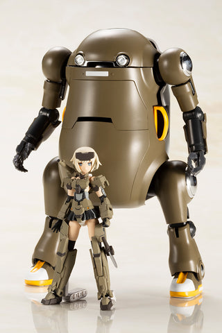 "Frame Arms Girl - GOURAI with 20 MechatroWeGo ""BROWN"" HANDSCALE GIRL"