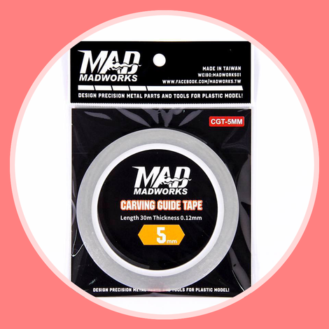 Madworks CGT-5MM Carving Guide Tape 5mm