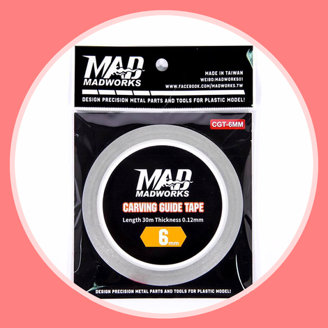 Madworks CGT-6MM Carving Guide Tape 6mm
