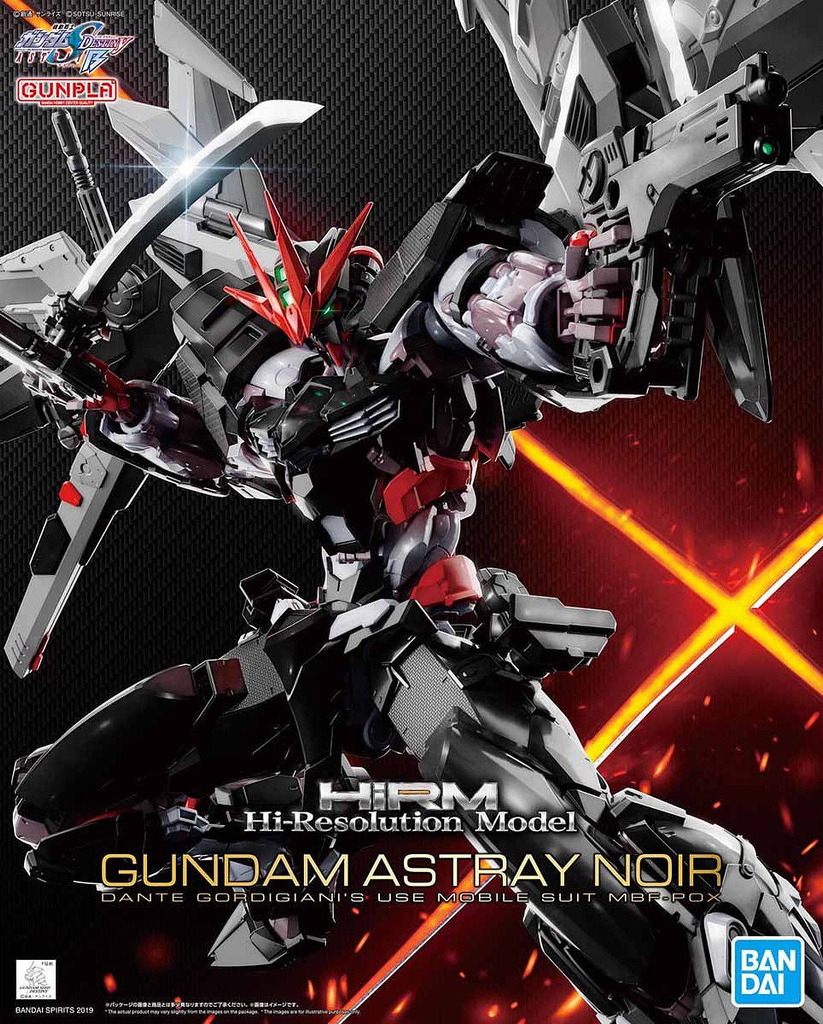 1/100 High-Resolution Model Gundam Astray Noir