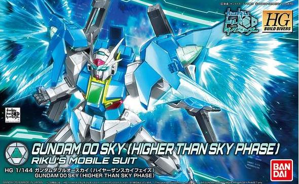 HGBD - Gundam 00 Sky (Higher Than Sky Phase)