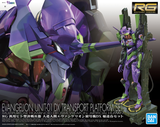 RG - Evangelion Unit-01 Test Type (DX Transport Stand Set)