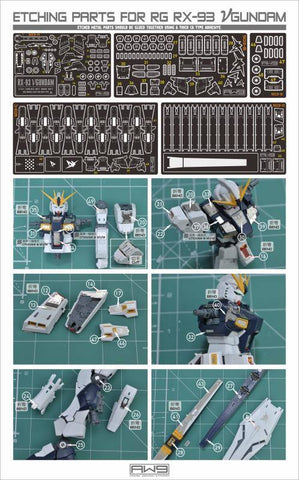 Madworks S03 Etching Parts for RG RX-93 Nu Gundam