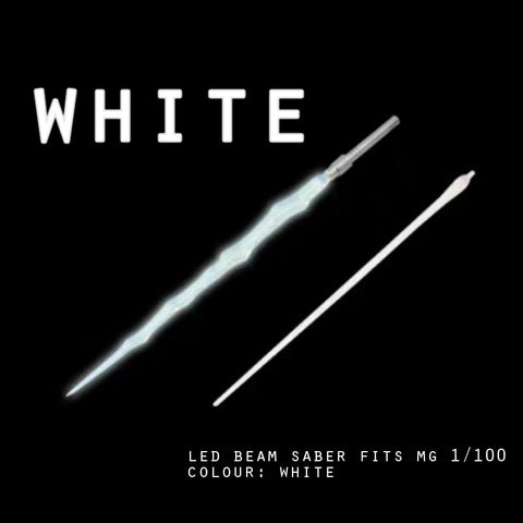 LED Beam Saber fits MG 1/100 (White)