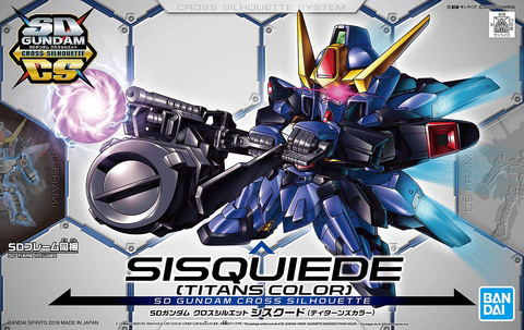 SD - Gundam Cross Silhouette Sisquiede (Titans Colors)