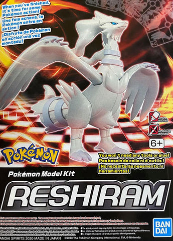 Pokemon Plamo Model Kit: Reshiram