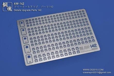 Madworks AW-142 Detail-up Parts