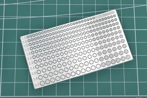 Madworks N-004 Neron Photoetched Pivot Holes Detail-Up Parts